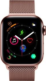 Watch Serie 4 40mm GPS+Cellular gold Stainless Steel Gold Milanese Loop Smartwatch Apple 79845390000018 Bild Nr. 1