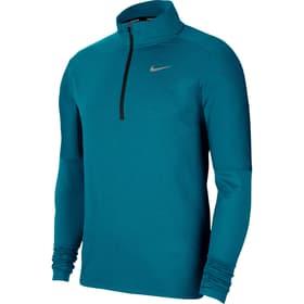 Dri-Fit Element 1/2 Zip Running Top Herren-Pullover Nike 470454000465 Grösse M Farbe petrol Bild-Nr. 1