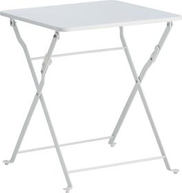 PEDONDA Tavolino accostabile 408002600010 Dimensioni L: 40.0 cm x P: 40.0 cm x A: 46.0 cm Colore Bianco N. figura 1