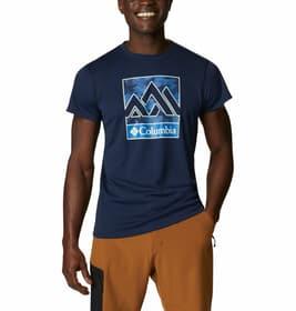 Zero Rules Graphic Herren-Kurzarmshirt Columbia 465721300322 Grösse S Farbe dunkelblau Bild-Nr. 1