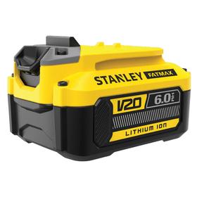 V20 / 18-Li 6.0 Ah Batteria di ricambio Stanley Fatmax 616243200000 N. figura 1