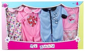 Set of 4 Outfits (for 14'' Doll) Poupées accessoires Lissi 747949200000 Photo no. 1