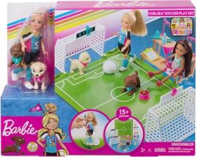 GHK37 Chelsea Soccer Ensemble de poupée Barbie 746591300000 Photo no. 1
