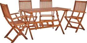 MULADO SET Table incl. 4 chaise 408013900000 Photo no. 1