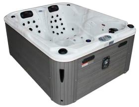Whirlpool LANAI  utilisable toute l'année Sonnenkönig 647334700000 Couleur Blanc marbré Taille L: 200.0 cm x P: 160.0 cm x H: 90.0 cm Photo no. 1