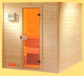 SAUNA EN MANDRIERS 190X190 64720150000003 Photo n°. 1