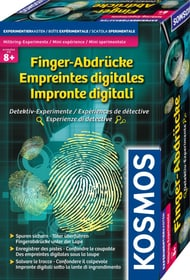 Impronte digitali Esperienze di detective Kit scientifici KOSMOS 748618600000 N. figura 1