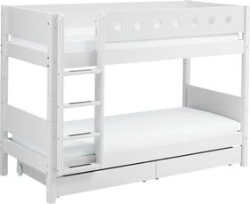 WHITE Lits superposés Flexa 404750600000 Dimensions L: 109.0 cm x P: 210.0 cm x H: 154.0 cm Couleur Blanc Photo no. 1