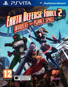 PS Vita - Earth Defense Force 2 : Invaders from Planet Space