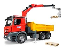 MB Arocs Baustellen-LKW Spielfahrzeug Bruder 785300127876 Bild Nr. 1