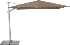VARIOFLEX Ombrellone Suncomfort by Glatz 408045300000 Dimensioni L: 300.0 cm x P: 300.0 cm x A: 270.0 cm Colore Talpa N. figura 1