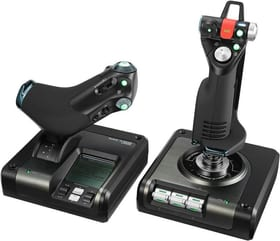 G Saitek Pro Flight X52 Control System Logitech 785300136881 N. figura 1