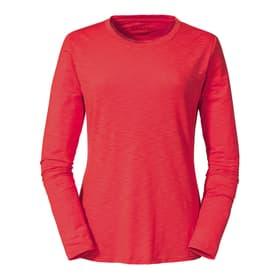 La Molina Maillot à manches longues pour femme Schöffel 462754103831 Taille 38 Couleur rouge claire Photo no. 1