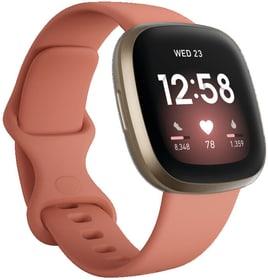 Versa 3 Pink Clay/Soft Gold Smartwatch Fitbit 798753800000 N. figura 1