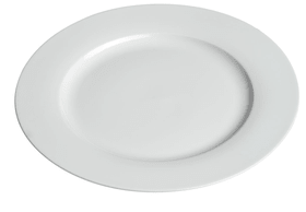 MODESTA Assiette 440200901027 Couleur Blanc Dimensions H: 2.5 cm Photo no. 1
