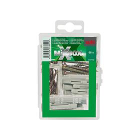 Mixbox Mini Universalschrauben mit Dübel Set suki 601591400000 Bild Nr. 1