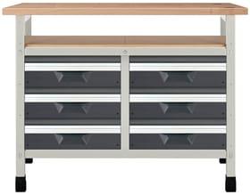 Werkbank No. 9 1130 x 650 x 860 mm 8068 Werkstatt-System Wolfcraft 601457500000 Bild Nr. 1