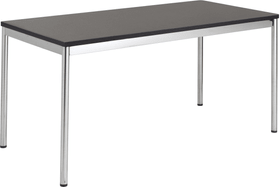 FLEXCUBE Bureau 401889800000 Dimensions L: 160.0 cm x P: 80.0 cm x H: 75.0 cm Couleur Noir Photo no. 1