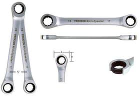 MICRO-Speeder-Ratschenschlüssel 16 x 18 mm Rätschen Proxxon 601462900000 Bild Nr. 1