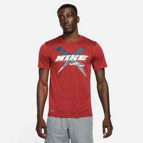 Dri-Fit Graphic Training SS Herren-T-Shirt Nike 468051100333 Grösse S Farbe Dunkelrot Bild-Nr. 1