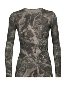 Natural Dye 200 Oasis Damen-Langarmshirt Icebreaker 465802200580 Grösse L Farbe grau Bild-Nr. 1