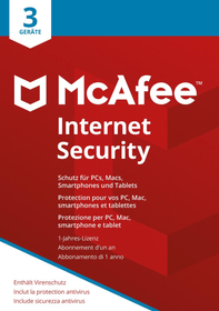 Internet Security 3 Devices Physisch (Box) Mc Afee 785300131277 Bild Nr. 1