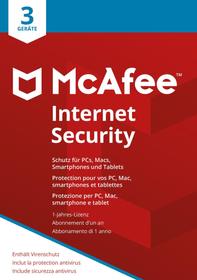 Internet Security 3 Devices Physisch (Box) McAfee 785300131277 Bild Nr. 1