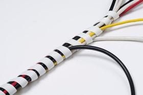 Tidy Flexible 10-40 mm, 2,5 m Länge Kabelschutzschlauch D-Line 612174900000 Bild Nr. 1