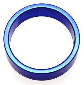 """Distanzring 1 1/8"""" x10mm blau eloxiert Velo-Steuersatz 9000016490 Bild Nr. 1"""