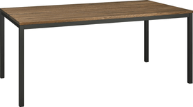 ALEXIS II Tisch 403700615013 Grösse B: 200.0 cm x T: 90.0 cm x H: 75.0 cm Farbe Eiche dunkel Bild Nr. 1