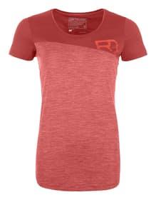 150 Cool Logo T-Shirt W Damen-Kurzarmshirt Ortovox 465812000531 Grösse L Farbe Hellrot Bild-Nr. 1