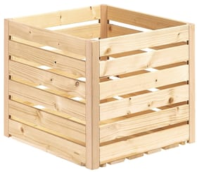 Cassetta in legno A1/2 Cassetta in legno HolzZollhaus 643260100000 Dimensione 350 x 350 x 320 mm N. figura 1