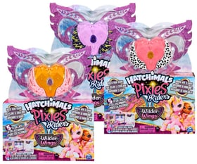 Hatchimal Pixies Riders/Wilder Wings Figure giocattolo Spin Master 740106800000 N. figura 1