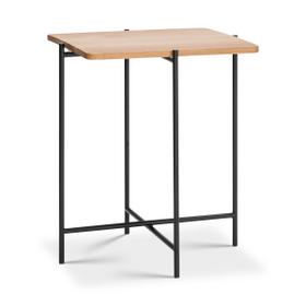 ELLY Tavolino da salotto 362254500000 Dimensioni L: 40.0 cm x P: 40.0 cm x A: 48.0 cm Colore Quercia N. figura 1