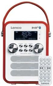 PDR-050 - Rot DAB+ Radio Lenco 785300148649 Bild Nr. 1