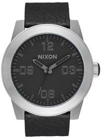 Corporal Black Gunmetal Black 48 mm Montre bracelet Nixon 785300137026 Photo no. 1