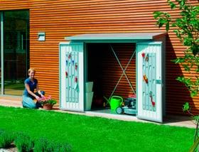 Set porta per scaffale per la legna Wood Stock 230 Biohort 647182900000 Colore Argento-Metallico N. figura 1
