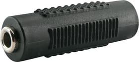 Adaptateur audio jack 3.5mm noir Schwaiger 613182500000 Photo no. 1