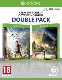 Xbox One - Assassin's Creed Odyssey + Assassin's Creed Origins - Double Pack Box 785300146503 N. figura 1