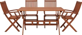 MULADO SET Table incl. 4 chaise 408013900000 Photo no. 1