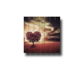 Image sur lames en bois arbre
