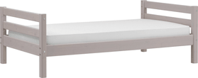 CLASSIC Einzelbett Flexa 404993300000 Grösse B: 100.0 cm x T: 210.0 cm x H: 67.0 cm Farbe Grau Bild Nr. 1