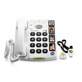 Secure 347 blanc Téléphone fixe Doro 785300124448 Photo no. 1