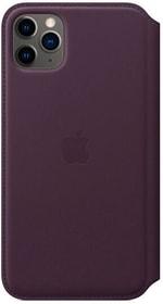 iPhone 11 Pro Max Leather Folio Aubergine Coque Apple 785300152881 Photo no. 1