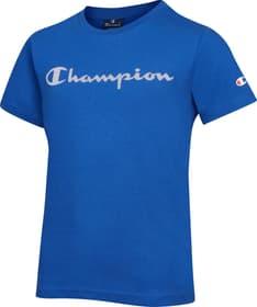 Crewneck T-Shirt T-Shirt Champion 466977917640 Grösse 176 Farbe blau Bild-Nr. 1