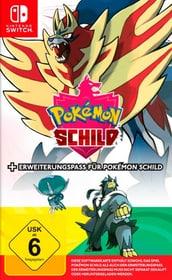 NSW - Pokémon Schild inkl. Erweiterungspass Box Nintendo 785300155733 Bild Nr. 1