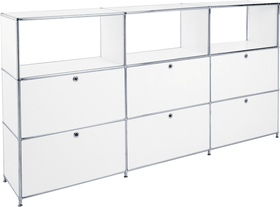 FLEXCUBE Buffet haut 401896700000 Dimensions L: 227.0 cm x P: 40.0 cm x H: 118.0 cm Couleur Blanc Photo no. 1
