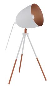 CHESTER Lampe de table 421231400000 Dimensions L: 29.0 cm x P: 29.0 cm x H: 44.0 cm Couleur Blanc Photo no. 1