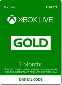 Xbox Live Gold - 3 mois Download (ESD) 785300140377 Photo no. 1