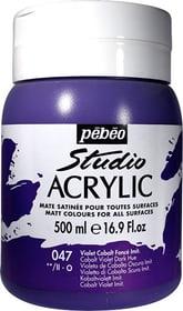 Pébéo High Viscosity Studio 500ml Pebeo 663534271047 Farbe Kobaltviolett Bild Nr. 1